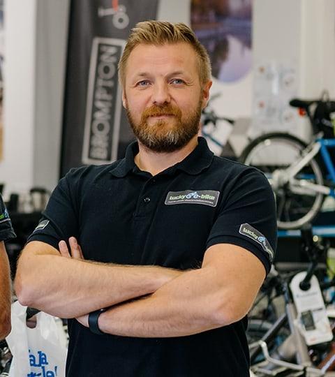 Tomi Kotiranta - Sähköpyöräkauppias